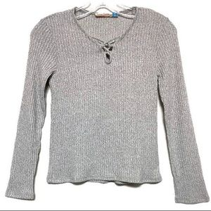 NWOT Vintage Havana girls sweater top shirt (W1)
